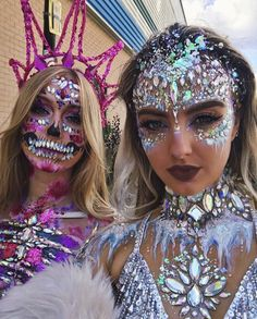 cb3f6e39261f00 1045 Best Festival makeup and glitter images in 2019