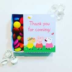 Peppa pig matchboxes by GlitterGlueDesigns on Etsy