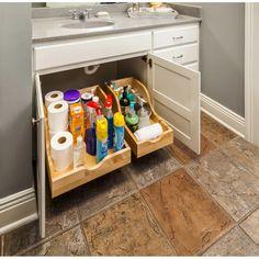 Kitchen Drawer Organization, Bathroom Storage, Home Organization, Cabinet Organizers, Kitchen Organizers, Kitchen Cabinet Drawers, Pull Out Kitchen Storage, Kitchen Armoire, Door Organizer