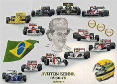 Ayrton-Senna-Fórmula-1-Memorial #ayrton #senna #f1