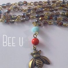 The new bumble bee jewelry collection from ShellyCakes