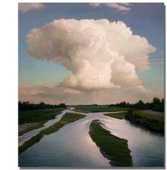Matthew Cornell oil on canvas 54 x 48
