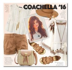 """""""Coachella 2016"""" by petri5 ❤ liked on Polyvore featuring Talitha, H&M, Violeta by Mango, Steve Madden and Vince Camuto"""