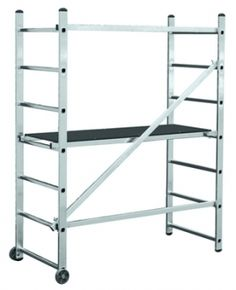 WORK PLATFORM LADDER