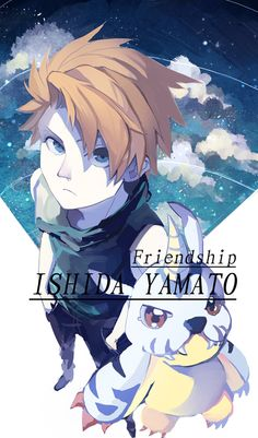 Yamato & Gabumon   Digimon #anime