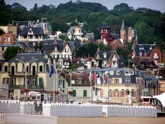Villers sur mer, Calvados, France.  My father visited the birthplace of our immigrant ancestor, Pierre Lefebvre, this summer.