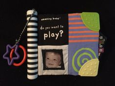 Kids Preferred Amazing Baby Soft Book