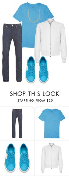 """""""Untitled #2605"""" by styledbycharlieb ❤ liked on Polyvore featuring Levi's, Billabong, Wooyoungmi and Lord & Taylor"""