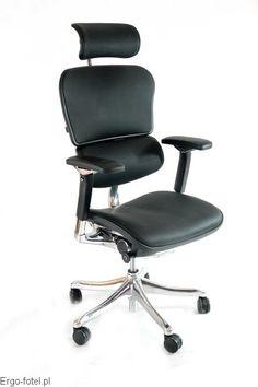 Fotel biurowy Ergomax Ergohuman Premium - skóra