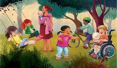 Society of children's Book Writers Featured Illustrator: Thalita Dol