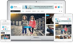 eStore Free WooCommerce WordPress Theme - all that you need to build amazing eCommerce site for 2016. Feature-rich theme with professional design and powerful options!