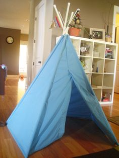 How to make a kids teepee