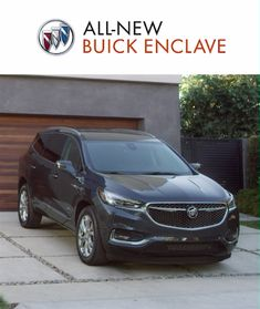 Meet the All-New Buick Enclave. Stylish accommodations for up to seven, plus flexibility to make short work of even the longest to-do list. See how it's tomorrow's SUV for today's family.