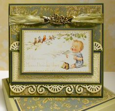 Vintage Image Birthday card