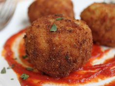 Beer and Gouda Fried Risotto Balls