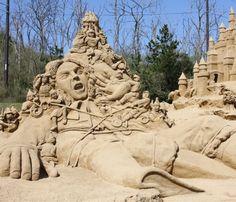 sculpture sable Gulivert