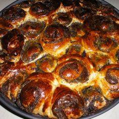 Mákos-meggyes tekercs-torta