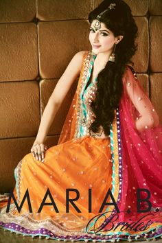 Brides Kundra and Fall Winter Latest Collection by Maria B