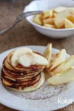 Proteiiniletut - High protein pancakes (in finnish)   Kokit ja Potit -ruokablogi