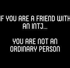 INTJ - it's true; you are a rare gem who has a high intelligence if I call you friend.<< Well, OBVIOUSLY, I'm an INTP, of course one of friends is an INTJ Intj And Infj, Enfj, Mbti, Intj Personality, Myers Briggs Personality Types, Intj Women, Introvert, Life Quotes, Jumpsuits