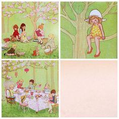vintage lunchbox illustrations