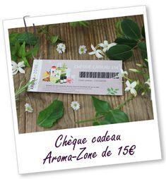 Chèque cadeau Aroma-Zone de 15 €