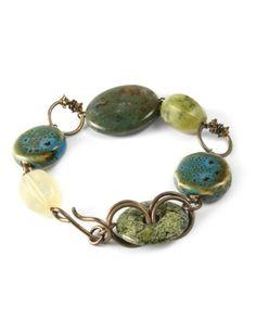 Earthen Pathway.. bracelet.. .love these colors!
