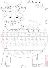 scrivere numeri