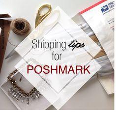 5 shipping tips for Poshmark. www.mrsnayla.com