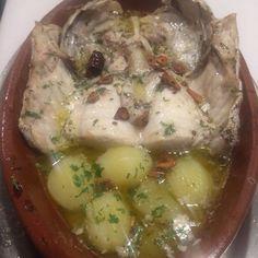 Cogote de Merluza a la Bilbaina #RestauranteAsturianomadrid #RestauranteAsturiano #Restaurantemadrid