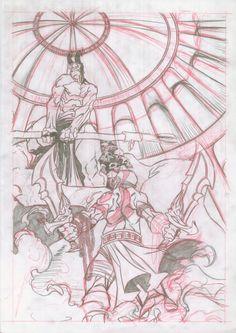 Kratos sketch  by Manuel Borras