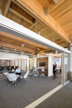 12th and Alder office by GBD Architects, Portland   Oregon office design