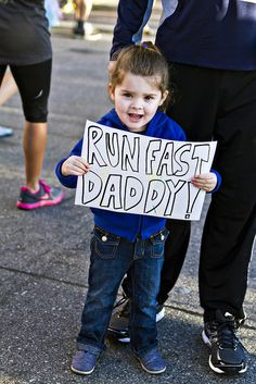 run fast daddy! by The Spohrs Are Multiplying..., via Flickr