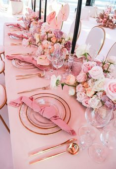 33 Coral Wedding Decorations Ideas ❤ coral wedding decorations flower tablerunner table nukia studio from { {. Coral Wedding Decorations, Wedding Colors, Wedding Flowers, Pink Table Decorations, Pink Wedding Receptions, Coral Weddings, Pink Wedding Theme, Pink And Gold Wedding, Wedding Bouquet