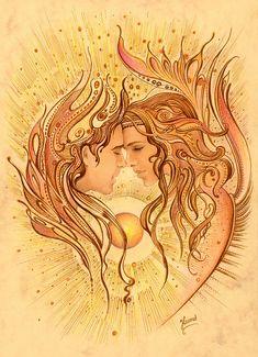 Intimacy Painting - Intimacy by Anna Ewa Miarczynska