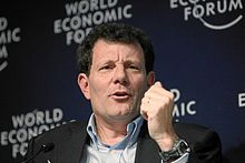 """Nicholas Kristof  is an American journalist & winner of 2 Pulitzers...he has """"rewritten opinion journalism"""" focusing on human rights abuse, social change, the importance of education, the value of women...his book """"Half The Sky"""" should be read by every woman...& he doesn't just write, he travels & LISTENS...he walks the walk."""