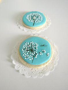 Round Dandelion Cookie