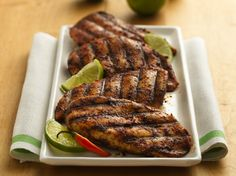 Lime and Chili-Rubbed Chicken Breasts