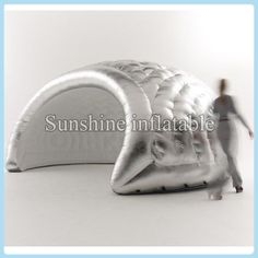 Newest silver inflatable dome tent inflatable igloo tent inflatable air dome tent disco dome for sale #Affiliate