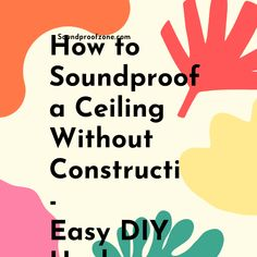 How to Soundproof A Ceiling Without Construction: These are ideal hacks if you live in a rented units and your landlord doesnt allow structural modifications Arthritis Relief, Sound Proofing, Work From Home Moms, Marketing Ideas, Make More Money, Being A Landlord, All In One, Affiliate Marketing, Online Business