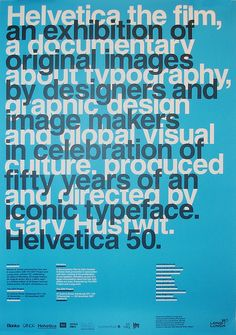 50 years of Helvetica Exhibition – Edinburgh