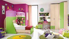 Children's Bedrooms With Bright Cheerful Colours   iDesignArch   Interior Design, Architecture & Interior Decorating eMagazine