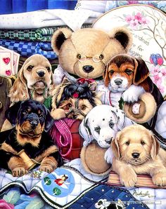 Jenny Newland - Puppy Party