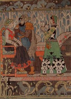 Gerhard Munthe woven tapestry