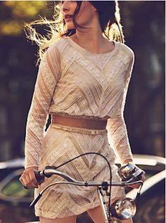 Free People's 'Girls on Bikes'... our kind of Boho Bike Fashion.