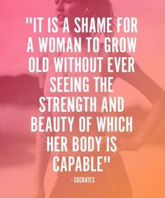 24 Fitness Quotes More Motivating Than Tony Horton on Crack 24 Fitness Quotes More Motivating Than Tony Horton on Crack,Quotes Socrates: woman's beauty body goals motivation transformation workouts loss transformation Fitness Motivation Quotes, Weight Loss Motivation, Fitness Tips, Health Fitness, Fitness Women, Exercise Motivation Quotes, Fitness Gear, Gym Motivation Women, Paleo Fitness