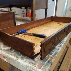 Diy Replacing A Centre Drawer Slide Drawers Diy