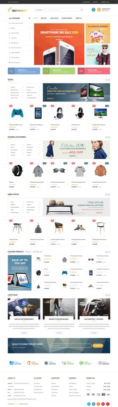 Bestmarket is a modern, attractive Prestashop theme for multipurpose #onlinestore eCommerce website with 6 amazing homepage layouts Download Now➝ https://themeforest.net/item/bestmarket-multipurpose-mega-shop-responsive-prestashop-theme/17168803?ref=Datasata