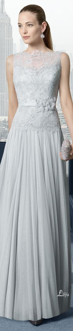 ROSA CLARÁ 2015. This is a gown I could envision Grace Kelly in!