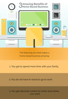 3 Amazing Benefits of Home-based Business Going On A Trip, Going To Work, Home Based Business, You Working, Your Family, Benefit, Group, Amazing, How To Make